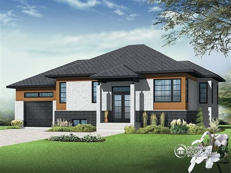 Contemporary Bungalow House Plans One Story Bungalow Floor