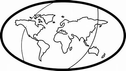 Globe Coloring Earth Wecoloringpage Pages