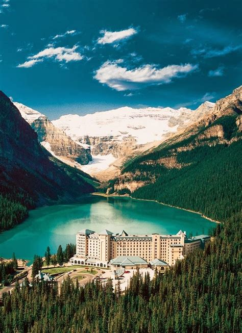 Lake Louise Alberta Canada Stayed At The Chateaux