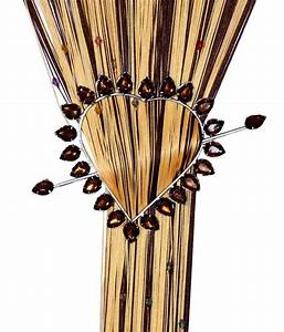 Vrinda, Brown, Contemporary, Curtain, Accessories, Set, Of, 2