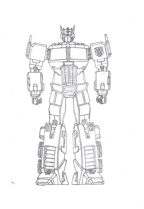 transformers octimus prime coloring pages  print
