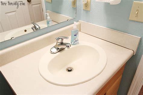 laminate countertops for bathroom vanities bathroom vanity countertops giveaway