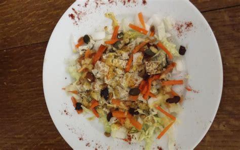 recette soja cuisine salade de chou chinois carottes et germes de soja recette