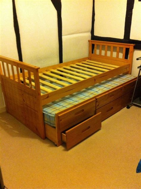 single bed  drawers  woodworking projects