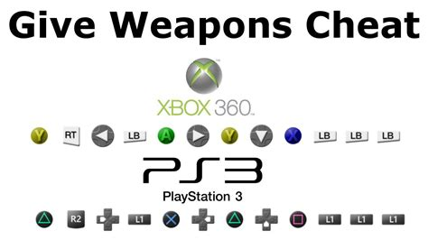 Get All Guns Cheat Code (xbox And