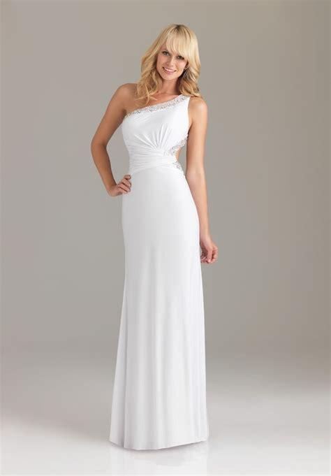 shoulder prom dresses dressedupgirlcom
