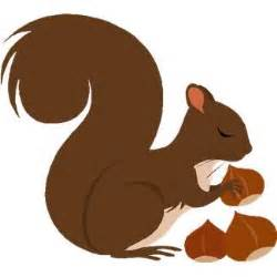 Image result for Fall Squirrel Clip Art