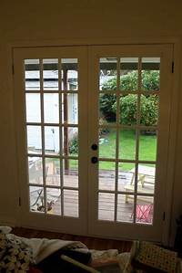 french door curtain panels DIY French Door Curtain Panel Tutorial | Pretty Prudent