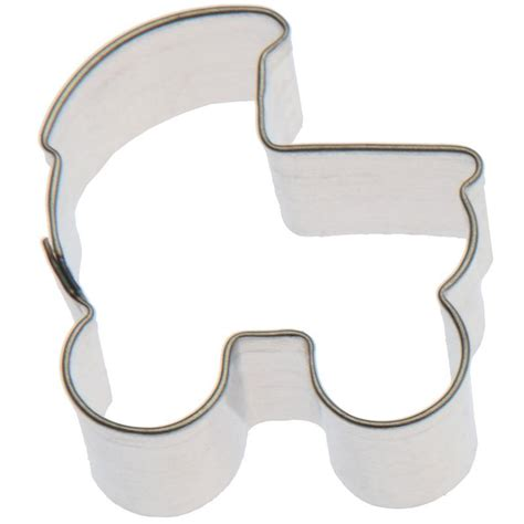 miniature baby carriage cookie cutter cookie cutter