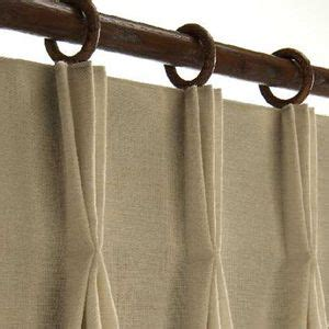 hanging pinch pleat curtains with clip rings - Hanging Pinch Pleat Drapes