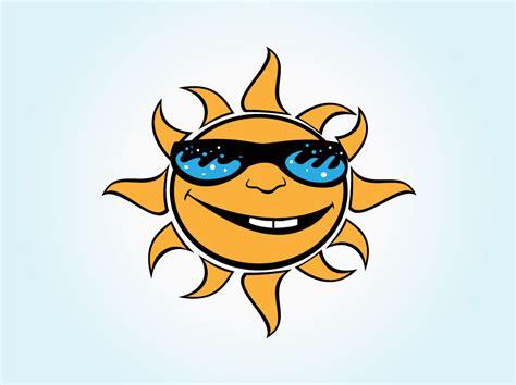 Vector Cartoon Sun Vector Art & Graphics
