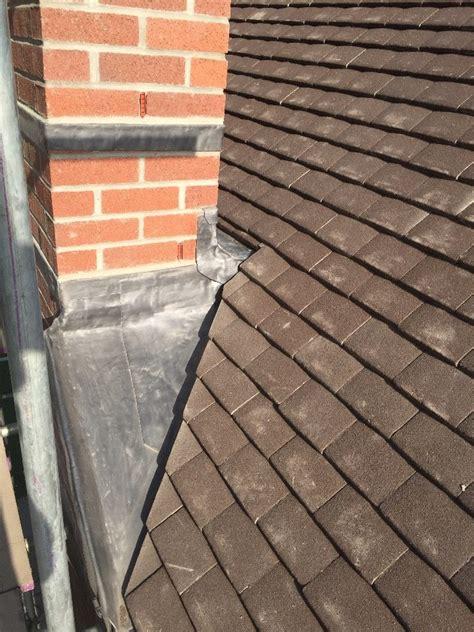 chimney rebuilding lead tray work ridge roofing