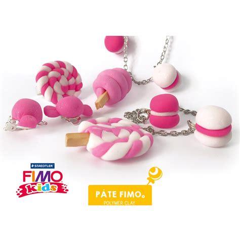 Kit Pate Fimo Pas Cher by Kit De Modelage Fimo Enfant Bijoux Gourmands 224 Faire Toi M 234 Me Perles Co