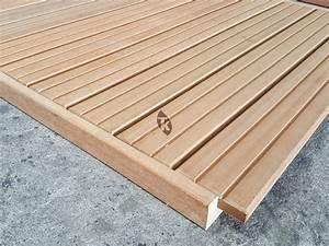 Terrasse En Caillebotis : caillebotis bois terrasse ~ Premium-room.com Idées de Décoration