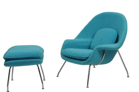 Womb Chair And Ottoman Knock by Get A Cozy Seating In Your Living Room By Decorating A