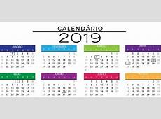 Programação de Feriados 2019 Vem que te Conto!