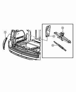 2008 Dodge Grand Caravan Bag  Jack Tool Storage   Tbt  Or
