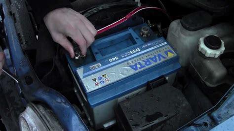 Autobatterie RICHTIG wechseln / Tutorial / Anleitung - YouTube