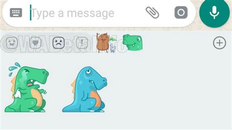 Whatsapp For Android Spotted With Sticker Reactions For