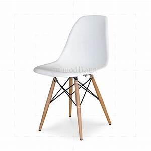 Eames Chair Weiß : eames style dining dsw chair white ~ Markanthonyermac.com Haus und Dekorationen