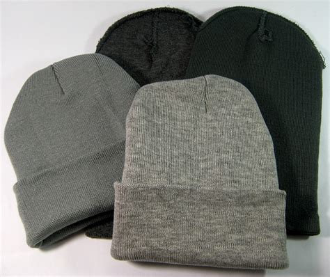 cuff long beanies wholesale winter hats wholesale all colors acrylic beanie bulk