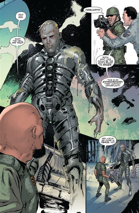 prometheus life  death  profile dark horse comics