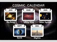 The Cosmic Calendar History of The Universe In Just 365 days