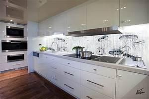 Crédence De Cuisine Originale : choisir une cr dence galerie photos de dossier 12 24 ~ Premium-room.com Idées de Décoration