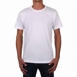 T Shirt Homme Blanc : col rond blanc t shirt homme ~ Melissatoandfro.com Idées de Décoration