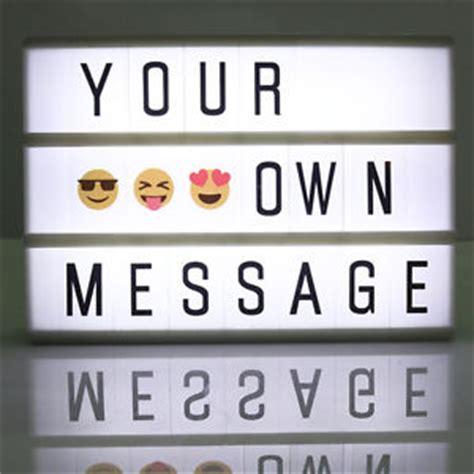 diy light sign board a6 cinematic cinema light up letter box sign lightbox diy