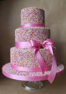 Girls Birthday Cakes Sprinkles