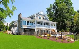 Custom Beach House Exteriors  Lakefront Homes  Gallery Of
