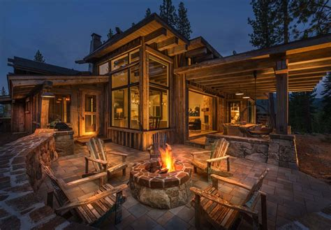 charming rustic living room ideas modern mountain home with striking design details in