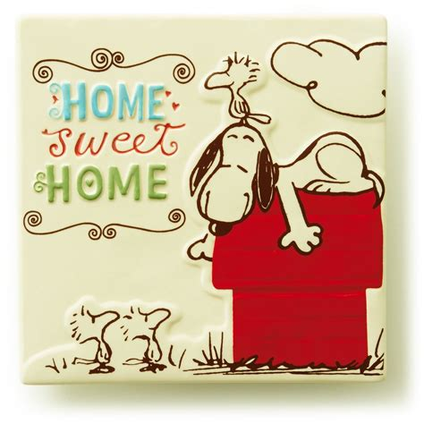 Home Sweet Home Ceramic Tile  Decorative Accessories