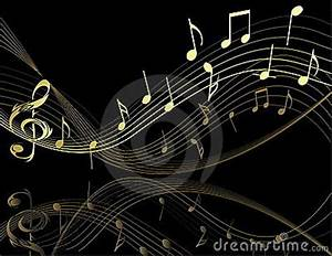 Background With Music Notes Royalty Free Stock Photo ...