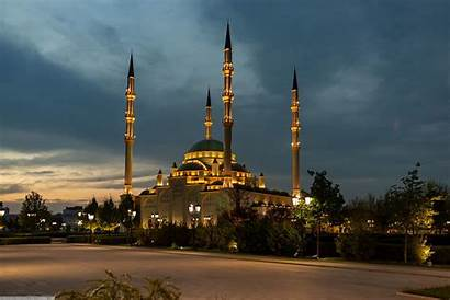Mosque Grozny Chechnya Russia Heart Istanbul Architecture