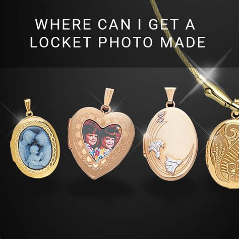 Where Can I Get A Locket Photo Made Online?  Gracious Rose