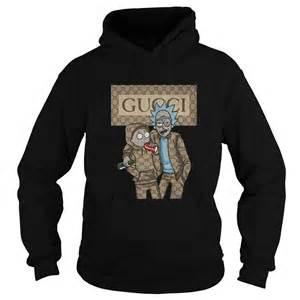 rick morty gucci logo shirt hoodie tank top sweater