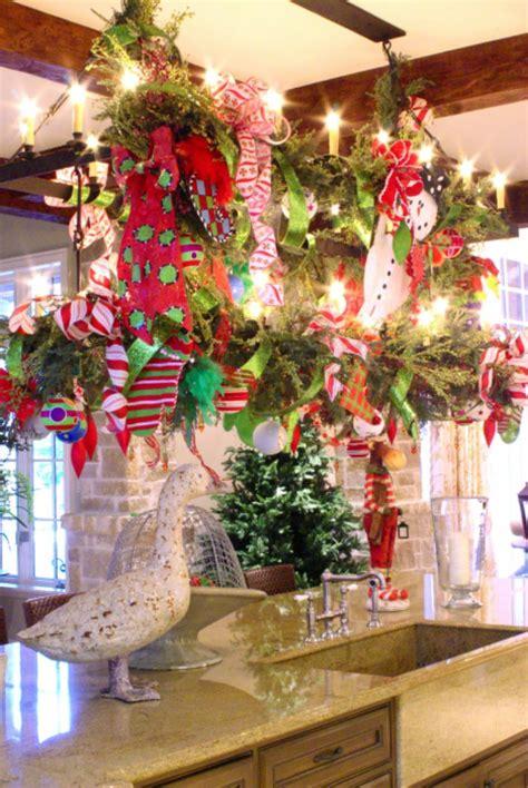 christmas decor ideas  kitchen home  decoration