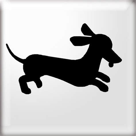 awesome wiener dog silhouette images dachshund