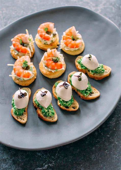 canapé cuisine finger food canape catering brisbane at your table