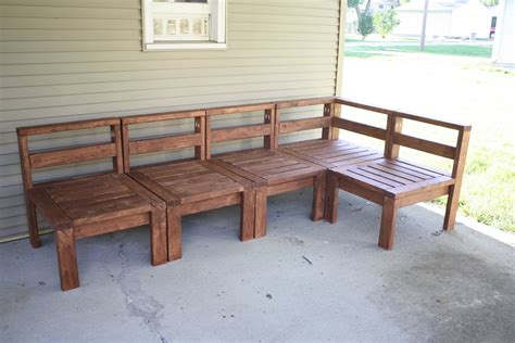2x4 Outdoor Sectional