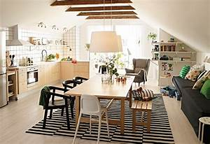 32 more stunning scandinavian dining rooms for Ikea dining and living room ideas