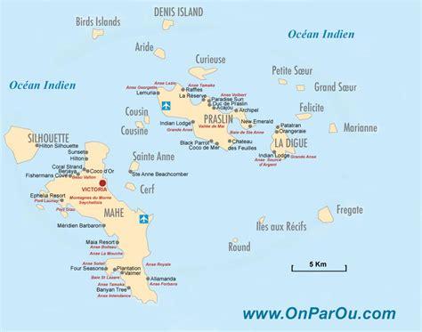 Carte Du Monde Avec Les Seychelles by Carte Des Seychelles