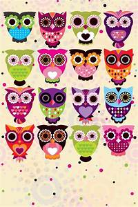 Home screen owl wallpaper