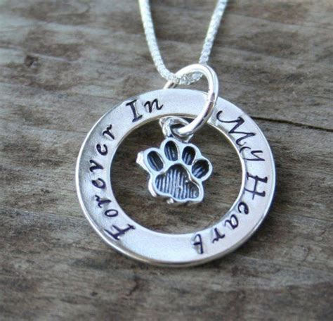 Eternity Circle Necklace for Pet Owners - Cat or Dog