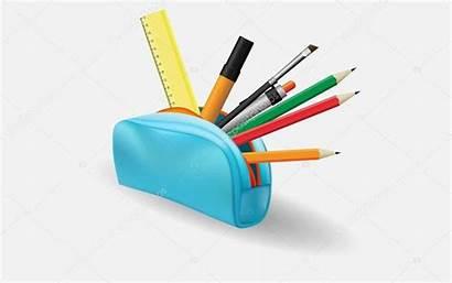 Pencil Trousse Clipart Case Astuccio Matite Het