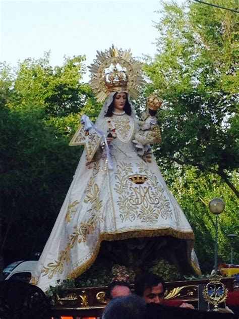 espectacular eucaristia solemne en honor de la virgen de