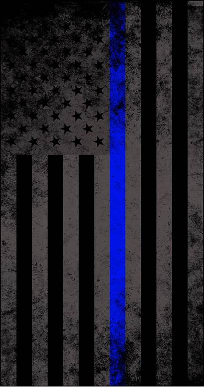 Officer Correctional Wallpapers Flag Line American Thin
