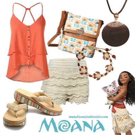 Disney Bounding With The Disney Fashionista- The Magnificent Moana